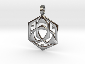 SYNCHRO-FREQUENCY in Fine Detail Polished Silver