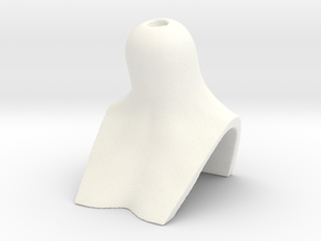 BJD BUST for SD female heads in White Processed Versatile Plastic
