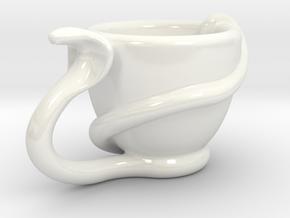 cobresso right hand in Gloss White Porcelain