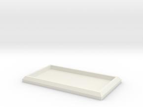 Tiny Model Movement Trays in White Natural Versatile Plastic