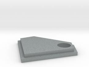 Diamond Keychain Decoration in Polished Metallic Plastic