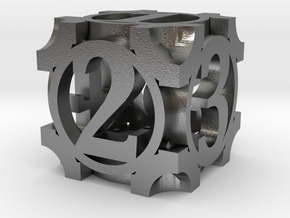 Daedal D6 - 16mm die in Raw Silver