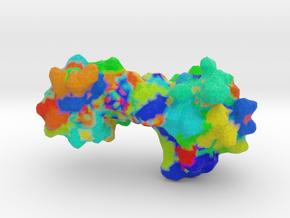 N-terminal of Bovine Prion in Full Color Sandstone