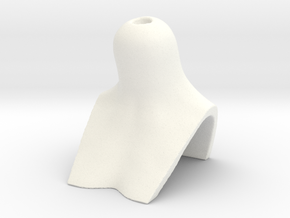 BJD BUST for MSD female heads in White Processed Versatile Plastic
