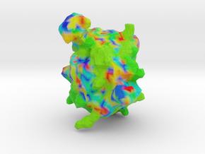 Human Interleukin-13 in Full Color Sandstone