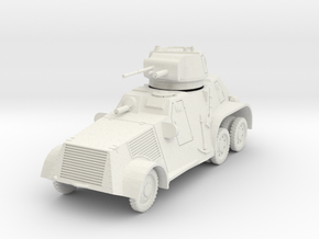 PV183 Pantserwagen M-38 (1/48) in White Natural Versatile Plastic