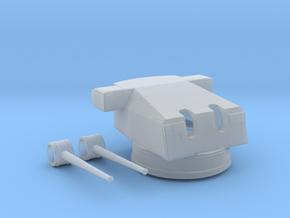 1/350 DKM 15cm SKC-34 In Drh LC34 Mount w. RF in Smooth Fine Detail Plastic