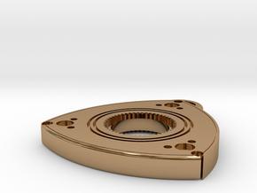 """1"""" Wankel Pendant  in Polished Brass"""