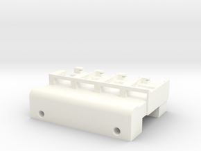Neoden 4-Gang, 16mm feeder block in White Processed Versatile Plastic