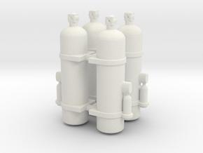 Fire Extinguisher 1/25 X4 V1 in White Natural Versatile Plastic