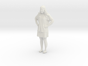 Printle C Femme 326 - 1/32 - wob in White Natural Versatile Plastic