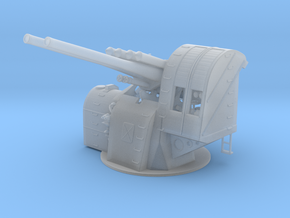 "1/72 IJN 12.7 cm/40 (5"") Type 89 Naval Gun in Smooth Fine Detail Plastic"