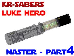 KR Luke Hero -  Master Chassis Part4 - Upper part in White Strong & Flexible