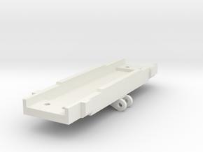 D&RGW Andrews Truck Spring Plank in White Natural Versatile Plastic