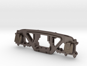 D&RGW Andrews Truck Frame in Polished Bronzed Silver Steel