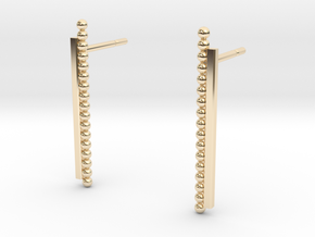 """At The French Window"" Earrings - SMK in 14K Yellow Gold"