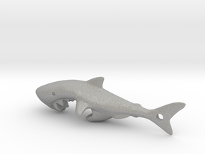 Shark Bottle Opener in Raw Aluminum