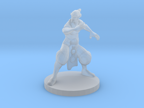 Elf Monk in Smooth Fine Detail Plastic