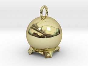 Crystal Ball in 18k Gold Plated