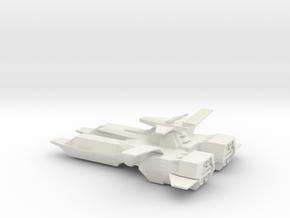 Gray Phantom 1:3000 Pegasus Class Refit in White Natural Versatile Plastic