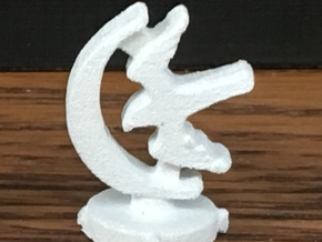 Game of Thrones Risk Piece Single - Arryn in White Natural Versatile Plastic