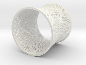 Bracelet KLM (2) in White Natural Versatile Plastic