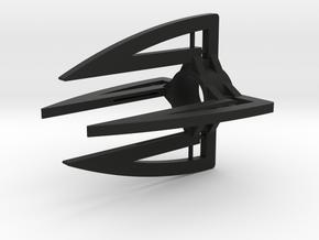Claws Quad in Black Natural Versatile Plastic