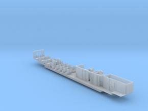 ICE1 Inneneinrichtung 2. Klasse Servicewagen in Smooth Fine Detail Plastic