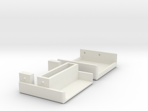 Apple IIGS VGA Adapter Case in White Natural Versatile Plastic