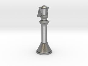 1/1 Code Geass Chess Piece Queen in Natural Silver