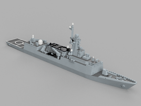 1/1800 ROKS Incheon in Smooth Fine Detail Plastic