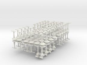 Microfleet For Rsknol in White Natural Versatile Plastic