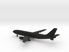 Airbus A300 in Black Natural Versatile Plastic: 1:600