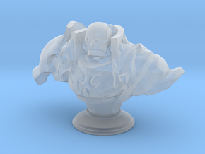 Golem Bust in Frosted Ultra Detail: Medium