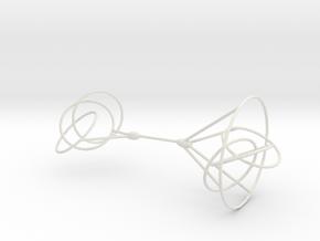 3-link-inverse in White Natural Versatile Plastic