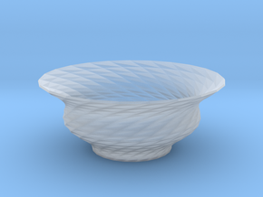 Bowl  in Smooth Fine Detail Plastic