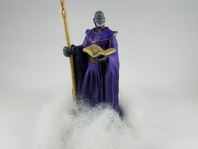 Zephyros the Cloud Giant Wizard in White Natural Versatile Plastic
