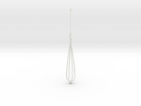 Orecchino Dipinto in White Strong & Flexible