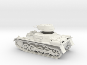 VBA Panzer IA 1:56 in White Natural Versatile Plastic