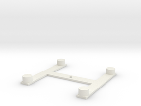 PlatformPositioner in White Natural Versatile Plastic