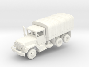 M35A2 2.5t Duce with tarp in White Processed Versatile Plastic: 1:160 - N