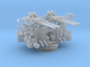 Best Detail 1/72 USN 40mm Bofors Quad Mount in Smooth Fine Detail Plastic