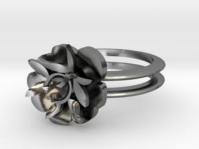 SMK BLOMST in Polished Silver: 5 / 49