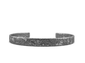 Corrosion -  Size 7.50 Bracelet in Polished Silver: Extra Large