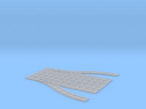 Feldbahn Erweiterung 1 (Abzweig) in Smooth Fine Detail Plastic