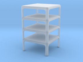 Stack of 4 Demetrio 45 Tables (Space: 1999), 1/30 in Smooth Fine Detail Plastic