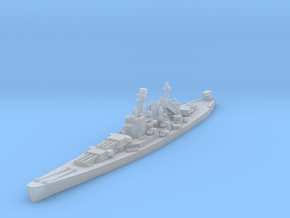 North Carolina class battleship 1/4800 in Smooth Fine Detail Plastic