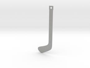 DRAW bookmark - hockey stick in Aluminum
