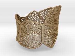 Bracelet KLM (3) in Polished Gold Steel
