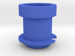 Rotastage Lens Adapter in Blue Processed Versatile Plastic
